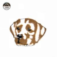 China 2018 New Towel Embroidery Patch,Cute Spotted Dog Towel Embroidery Patch#L30024 on sale