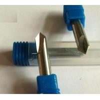 Buy cheap Mirco Grain Solid Carbide Drills for Chamfer / Slotting Drilling Bit from wholesalers