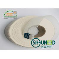 Buy cheap 35mm T / C Garments Accessories Hard Hand Feeling Resin Interlining For Suits from wholesalers