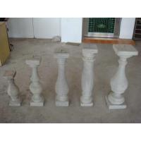 Buy cheap Decorative Outdoor Stair Railings , Concrete Glass Fiber Balusters from wholesalers