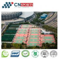 Buy cheap High Shock Absorption Si-PU Sports Flooring Coating from wholesalers