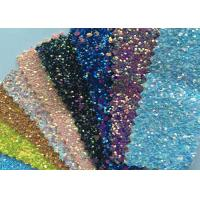Buy cheap Fashion Chunky Glitter Fabric 3D Glitter Fabric For Hairbows 54/55 Width from wholesalers