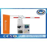 Buy cheap 0.9s 3m High Speed DC Motor Traffic Electronic Barrier Gates With Folding Arm , CE Approved from wholesalers