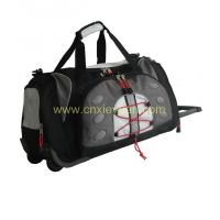 Buy cheap duffel bag with trolley from wholesalers