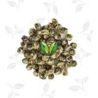 Buy cheap hand made white dragon pearl Green Tea Leaves and buds into pearl shape from wholesalers