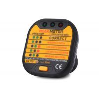 Buy cheap 220V - 250V EU Plug Electric Socket Tester Support GFCI / RCD Test Functions from wholesalers