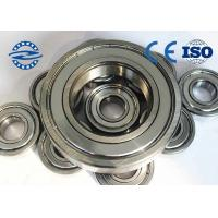 Buy cheap High Precision Ball Bearings , Miniature Ball Bearings 6005Z For Bearing Radial Load from wholesalers