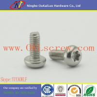 Buy cheap Stainless Steel Torx Pan Head Machine Screws from wholesalers
