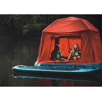 Buy cheap PVC Inflatable Shoalwater Pool Tent Inflatable Floating Tent On Lake from wholesalers