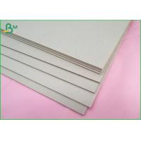 Buy cheap 2mm Waterproof Grey Board Paper Uncoated 100% Recycled For Arch File from wholesalers
