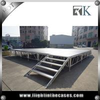 Buy cheap Assembly folding stage outdoor portable stage hot sale cheap portable stage from wholesalers