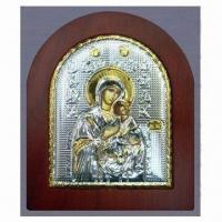 Buy cheap Metal/Orthodox Icon with Aluminum Base Sheet and Supportive Back Leg to Stand from wholesalers