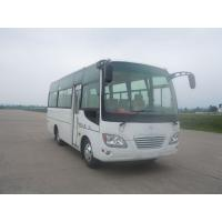 Buy cheap Passenger 6m 18 Seater Minibus For Tourist ABS Metallic Painting Euro IV CNG Engine from wholesalers