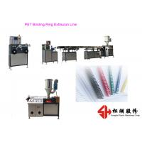 Buy cheap Plastic PET PVC Binding Ring Plastic Strapping Band Making Machine With Precise Extrusion Technology from wholesalers