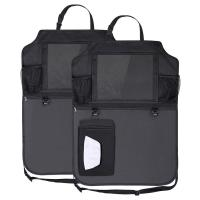 Buy cheap 600D Polyester Fabric Car Backseat Trunk Organizer With Clear PVC iPad Holder from wholesalers