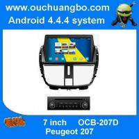 Buy cheap ouchuangbo car multimedia s160 for Peugeot 207 support android 4.4 gps sat nav Bluetooth phone book radio from wholesalers