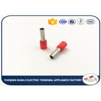 Buy cheap Wire Connecting Copper Insulated Cord End Terminal AWG 12 CE ROHS Certificated from wholesalers