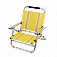 Buy cheap Promotional Beach Chair for Sandbeach, Low Camping Chair, Lightweight Folding Beach Lounge Chair from wholesalers