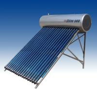 Evacuated tube solar water heater system