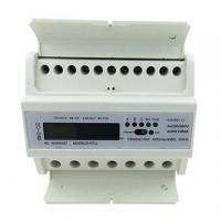 China LCD Display Din Rail KWH Meter , 3 phase power meter kwh Active Energy Measurement on sale