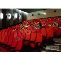Buy cheap Futuristic Vibration Sound 4D Cinema System With Electric Motion SV Chair product