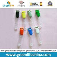 Buy cheap Colored Plastic Lanyard Alligator Lid Clips W/PVC Tape Office Fastener from wholesalers
