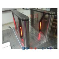Buy cheap Pedestrian Intelligent Security Drop Arm Turnstile Access Control with LED Indicator of CE approved from wholesalers