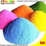 Buy cheap High Gloss Epoxy Powder Coating , Black Satin Powder Coat On Metal Surface from wholesalers