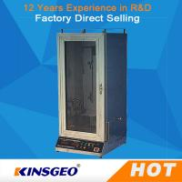 Buy cheap Automatic Electric Fabric Testing Equipment Veritical With Power Ac220V,50Hz from wholesalers