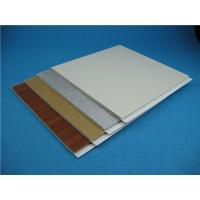 Buy cheap Interior Acoustical PVC Wall Panels Laminating And Glossy Surface from wholesalers
