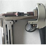 Buy cheap Pneumatic Air Compressor Nail Gun , Sofa Springs Air Powered Nail Gun from wholesalers