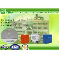 Buy cheap Einecs No. 203-940-1 Diethylene Glycol Monoethyl Ether Acetate For Cellulose Esters from wholesalers