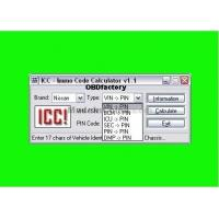 Buy cheap Original ICC IMMO Calculator, Automotive Diagnostic Software for Nissan and Infinity from wholesalers