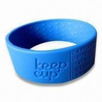 Buy cheap Cup Sleeve/Holder, Made of 100% Food Grade Silicone, Customized Orders Welcomed product