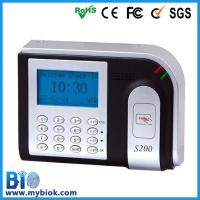 Buy cheap RFID Time Recorder Bio-S200 from wholesalers