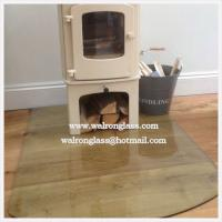 Buy cheap truncated Glass Stove Floor Plates from wholesalers