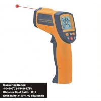 Buy cheap 900℃ Gun Type Digital Portable Laser Infrared Thermometer Hygro Thermometer IR900 from wholesalers