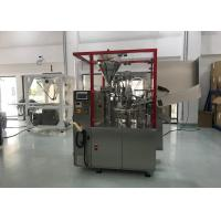 Buy cheap Hair Care Aluminium Tube Sealing Machine , Cosmetic Tube Filling Machine from wholesalers