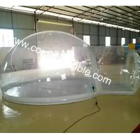 Buy cheap inflatable bubble dome tent inflatable crystal bubble tent tradeshow bubble tent from wholesalers