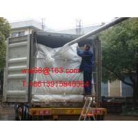 China ISO9001 / ISO14000 20ft PP woven dry bulk container liner for PET resin on sale