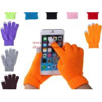 Buy cheap Soft Cotton Touch Screen Gloves Ladies Women Men Winter Warm Wrist Gloves For Mobile Phone Tablet from wholesalers