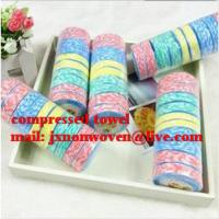 Buy cheap magic towel/100% cotton compressed towel  from wholesalers
