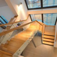 Buy cheap Wholesale China Cheap wood Stairs Price, Safety wood Staircase from wholesalers