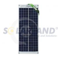 Buy cheap OEM Custom 50W Solarland Semi - flexible Solar Panels with 36 Cells Module from wholesalers
