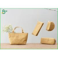 Buy cheap 100% Recycle Custom Kraft Liner Paper For Zip Lock Pouch Wallet / Small Bag from wholesalers