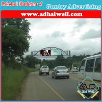 Buy cheap Gantry Billboard Advertising Display Structure (W18 x H4) from wholesalers