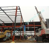 Buy cheap W Prefabricated ASTM Industrial Steel Buildings 80' X 96' Light Weight from wholesalers