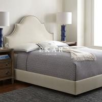 Buy cheap Luxury Girls Linen Adjustable Bed Frame and China King Size Bed Dimensions from wholesalers