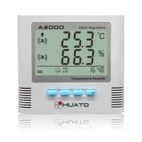 Buy cheap Multi Function Digital Thermometer Hygrometer With Sound / Light Alarming Function from wholesalers