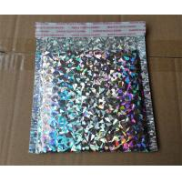 Buy cheap Shiny Holographic Bubble Envelopes , Express Packing Holographic Poly Mailers from wholesalers